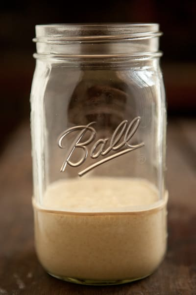 How to Make a Sourdough Starter Day One Pinch My Salt