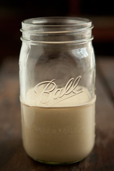 How to make a sourdough starter: Day 2 | pinchmysalt.com