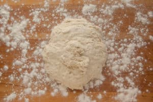 Bread Dough on Floured Board