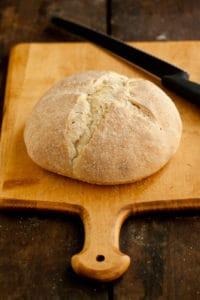 Sourdough Bread Ready to Cut