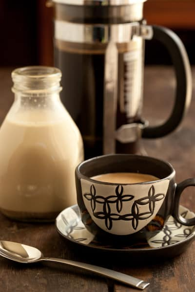 Coffee with Homemade Creamer