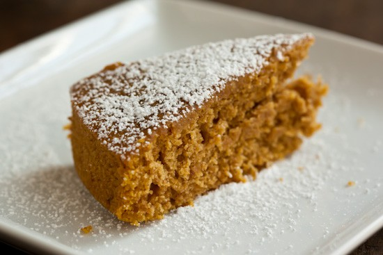 Pumpkin Maple Sourdough Cake