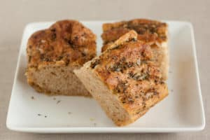 Herbed Whole Wheat Focaccia