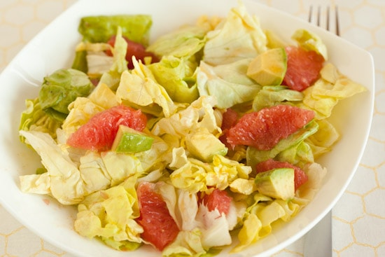 Grapefruit and Avocado Salad recipe | pinchmysalt.com