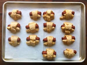 Whole Wheat Pigs in a Blanket