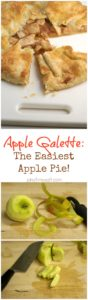 Apple Galette Recipe - Easiest Apple Pie! | pinchmysalt.com
