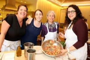 Team with Avocado Salsa