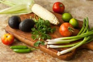 Grilled Corn Guacamole - Pinch My Salt