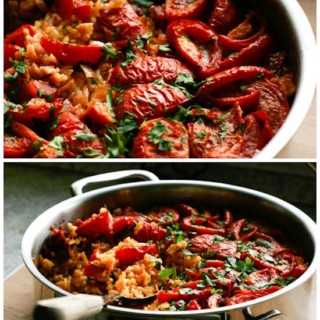Tomato Paella Recipe - Pinch My Salt