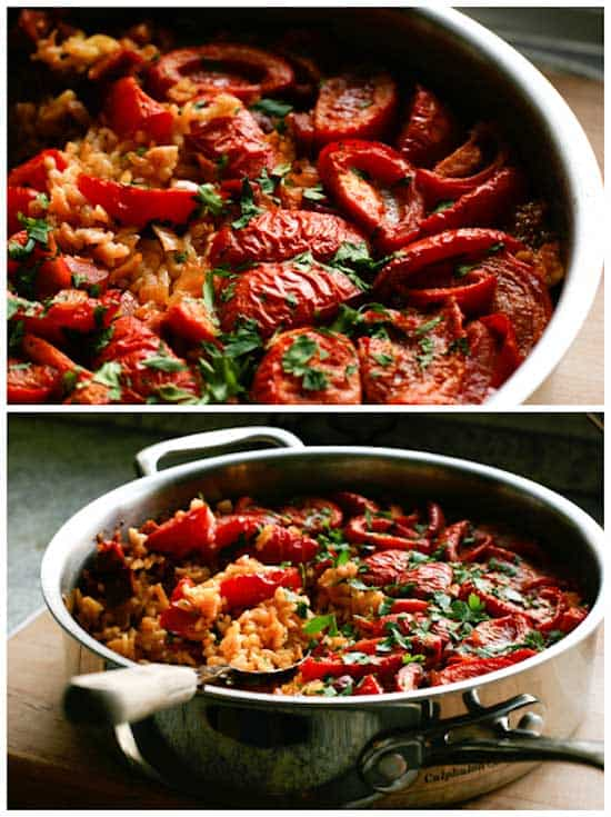 Tomato Paella Recipe - Pinch My Salt