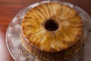 Caramel Apple Pear Cake