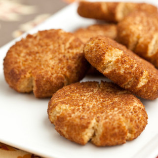 Baking with Almond Flour: Snickerdoodles