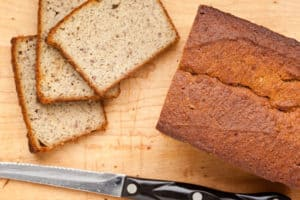 Grain-Free, Paleo Banana Bread
