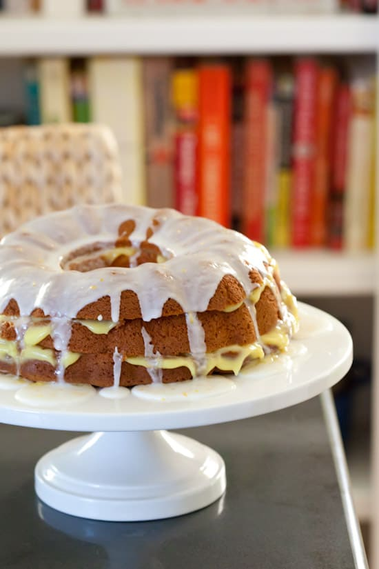 Gluten-Free Layered Lemon Bundt Cake