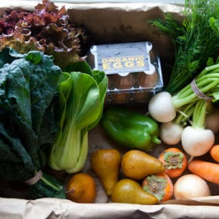 A Peek Inside Our CSA Box