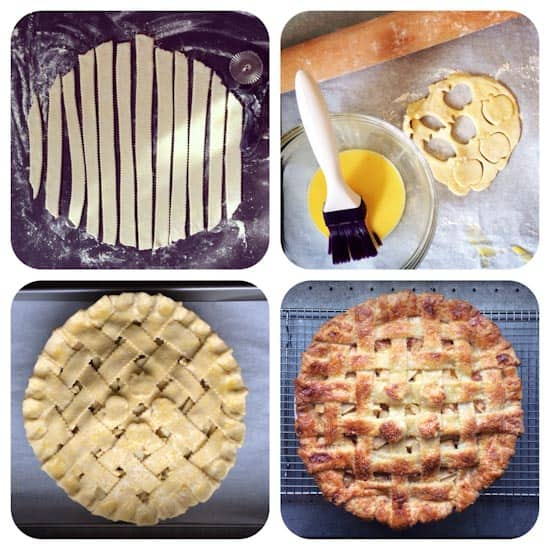Lattice-Top Apple Pie