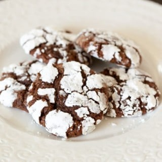 Chocolate Cherry Crackles