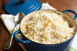 Green Chile Rice | pinchmysalt.com