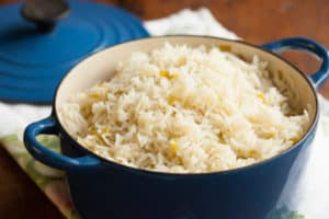 Green Chile Rice | pinchmysalt.com