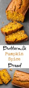 Buttermilk Pumpkin Spice Bread Recipe | pinchmysalt.com