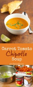 Carrot Tomato Soup with Chipotle | pinchmysalt.com