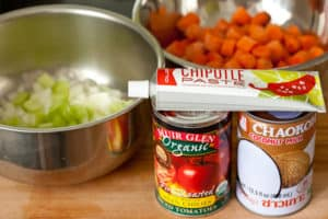 Carrot Tomato Chipotle Soup Ingredients | pinchmysalt.com