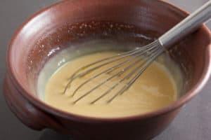 Making filling for Lemon Cream Pie | pinchmysalt.com