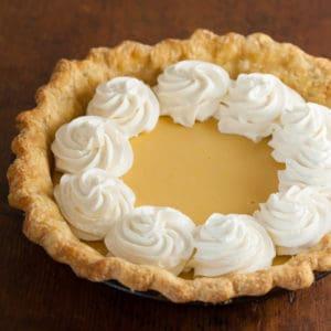Family Favorite Lemon Cream Pie Recipe   pinchmysalt.com