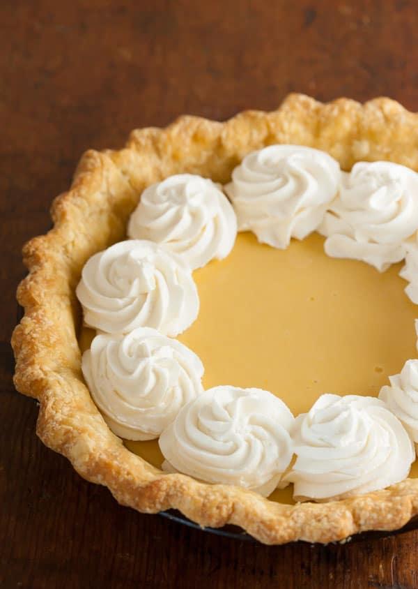 Family Favorite Lemon Cream Pie Recipe | pinchmysalt.com