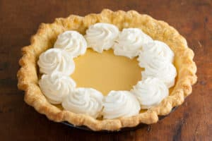 Family Favorite Lemon Cream Pie Recipe | pinchmysalt.com