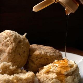 The BEST buttermilk biscuits from scratch recipe! | pinchmysalt.com