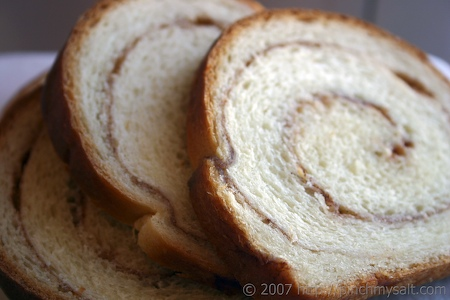 Cinnamon Swirl Bread Recipe | pinchmysalt.com