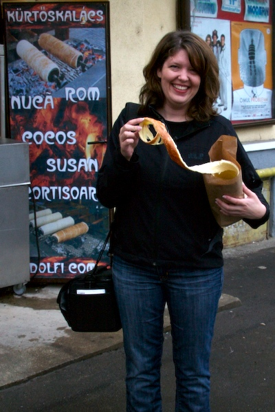 Nicole with Pastry