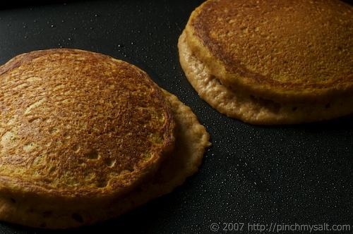 Cooked Pumpkin Pancakes