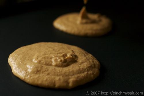 Uncooked Pumpkin Pancakes