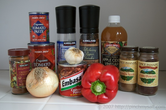 Ingredients for the ultimate homemade manwich recipe
