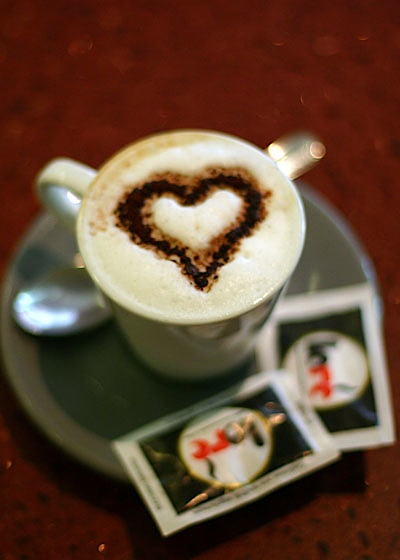 Heart Shaped Cappuccino