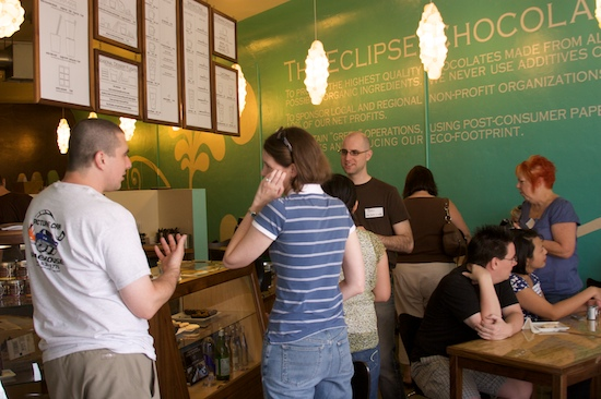 Foodbloggers at Eclipse Chocolat