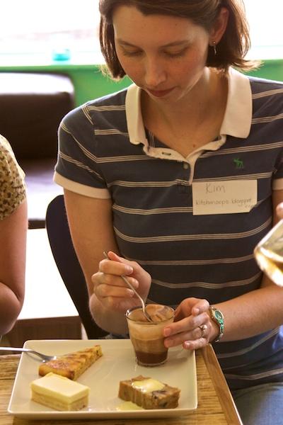 Foodlbogger Sampling the Seasonal Dessert Platter