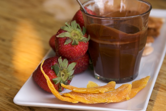 Chocolate Olive Oil Fondue