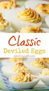 Classic Deviled Eggs | pinchmysalt.com