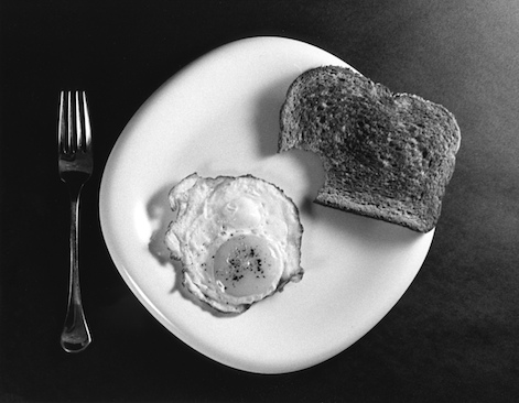 Black and White Breakfast