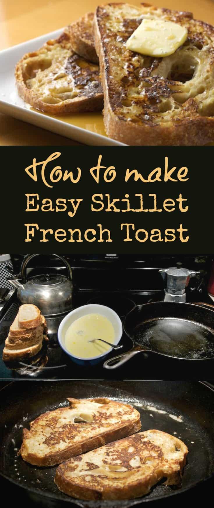 Easy French Toast Recipe | pinchmysalt.com