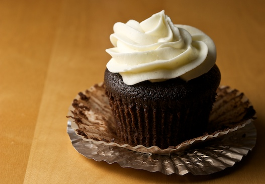 Chocolate Stout Cupcake with Cream Cheese Frosting