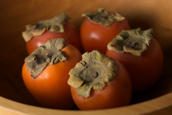 Bowl of Persimmons | pinchmysalt.com