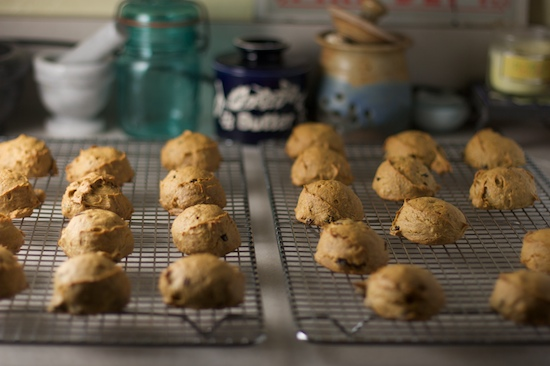 Persimmon Cookies Cooling | pinchmysalt.com