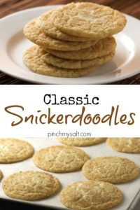 Classic Snickerdoodles | pinchmysalt.com