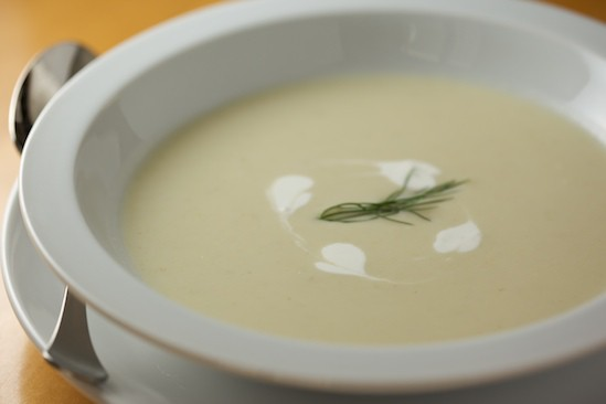 Creamy Fennel and Leek Soup