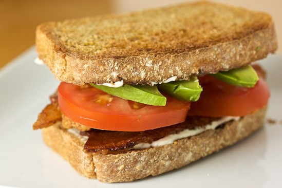 Anadama Bacon Sandwich