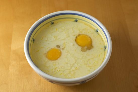 Eggs, Milk and Oil